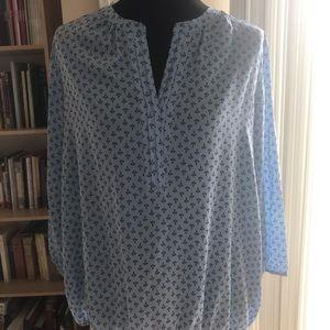 Dana Buchman anchor blouse